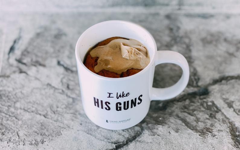 Chocolate Mug Cake Recipe (using Shakeology)