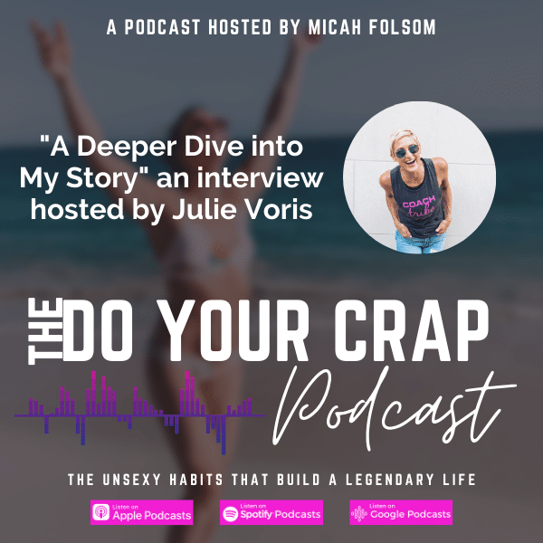 A Deeper Dive into My Story: an interview hosted by Julie Voris